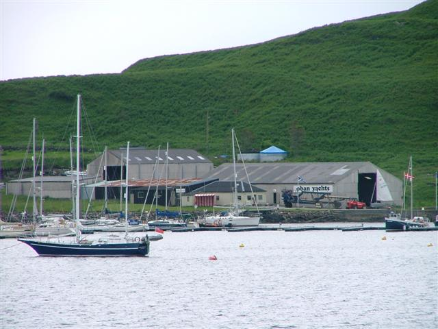 Boatyard, Ardantrive Bay, Kerrera