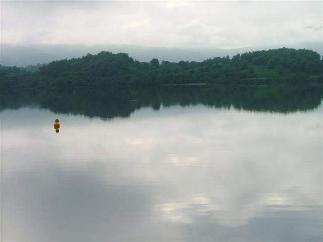 Inchlonaig Viewed from Luss across Loch Lomand