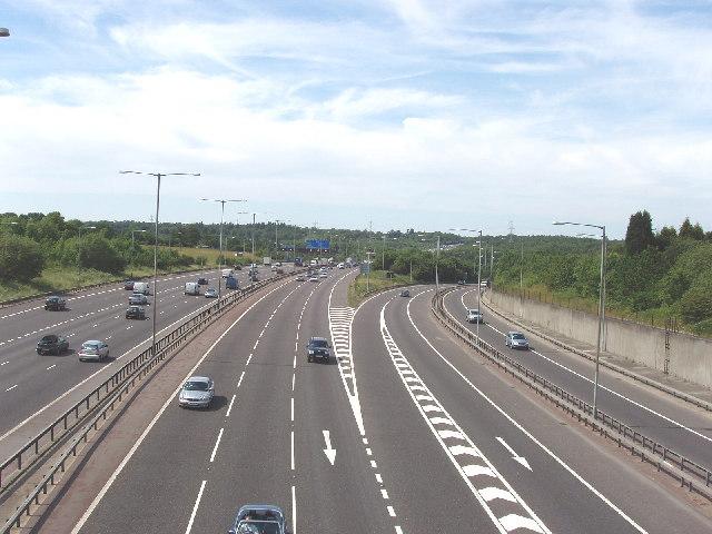 M25/M40 Motorway Junction