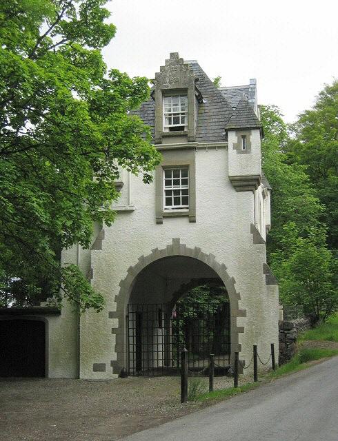 Gatehouse to Meggernie Castle