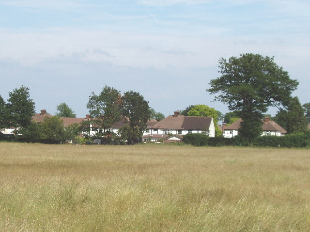 Iver Heath houses from Pinewood Road