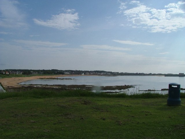 Chapel Ness looking Towards Elie Harbour