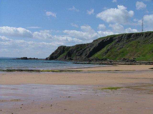Earlsferry Beach looking towards Kincraig point