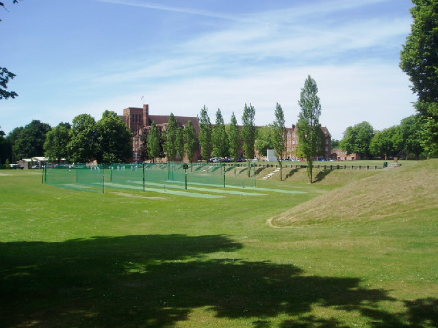 Ardingly College from the road