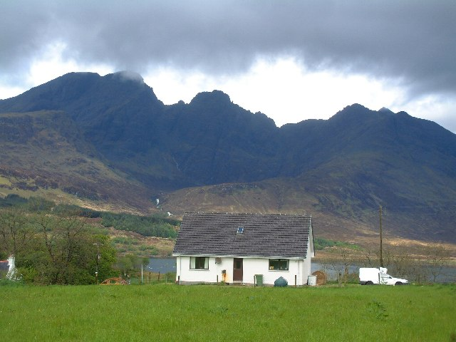 House in Torrin village, Skye