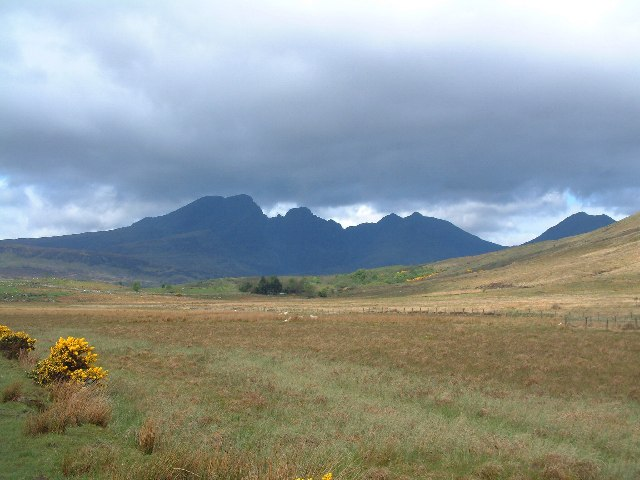 Valley west of Loch Cill Chriosd