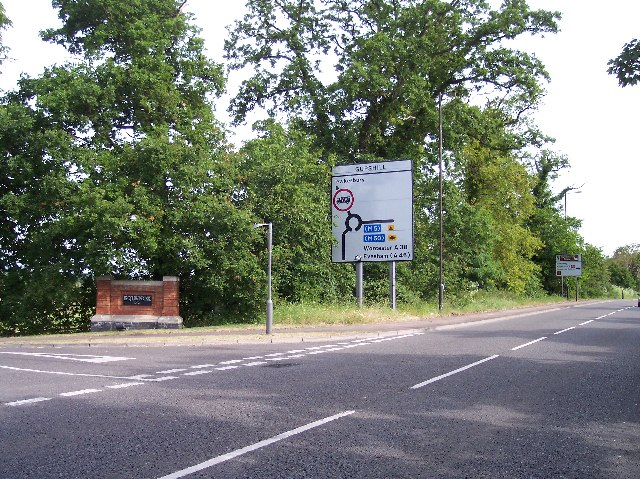 Entrance to Southwick Park