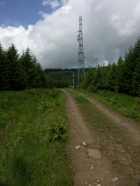 Radio station near Inveraray