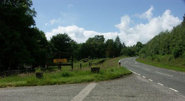 A83 near Inveraray