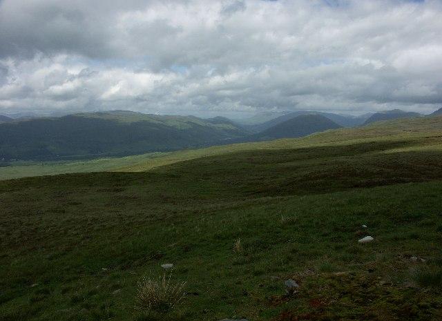 View from Bealach nan Cabrach