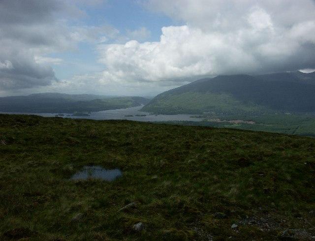 Loch Awe from Bealach nan Cabrach