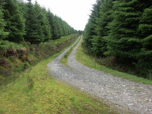 Track down Bealach nan Cabrach