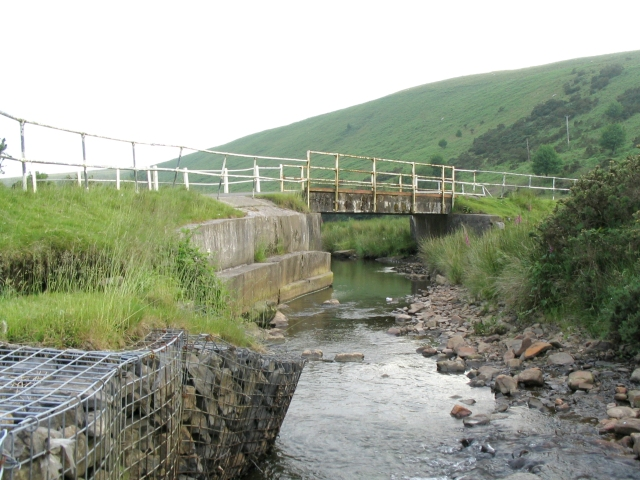 Bridge over Clydach river