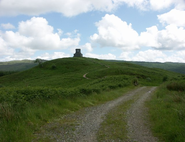 Monument to Duncan Ban MacIntyre near Dalmally