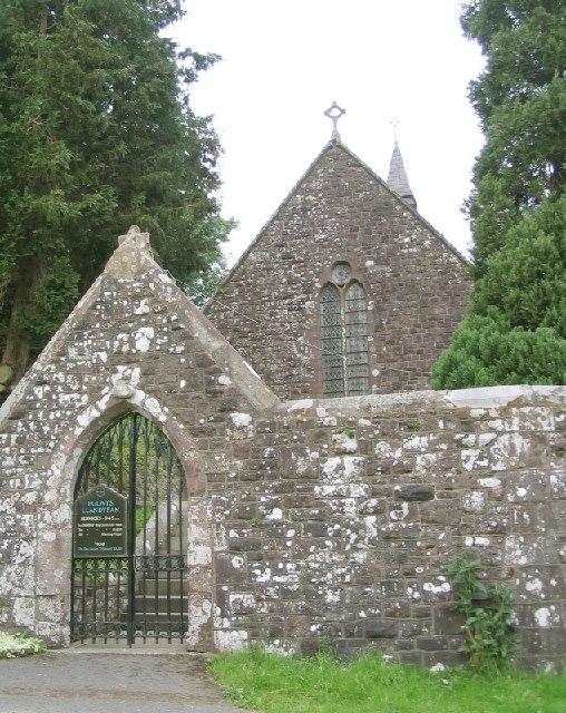 Llandyfan Church