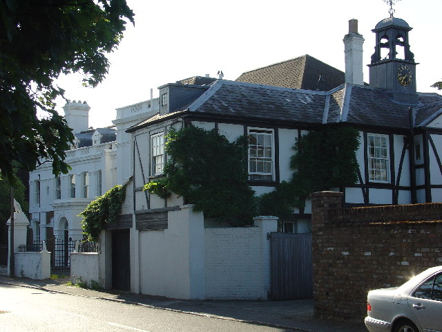 Clock House in Halliford Road, Sunbury
