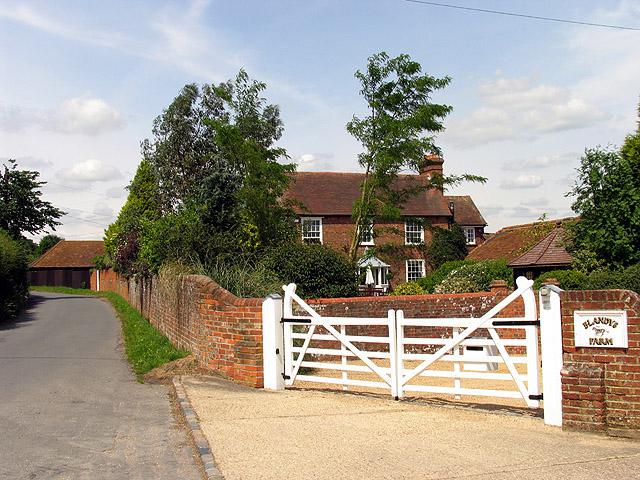Blandy's Farm near Upper Basildon