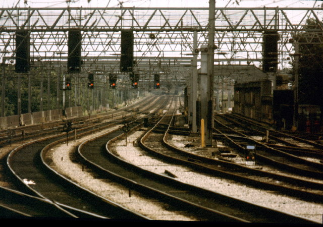 The view from Preston Station