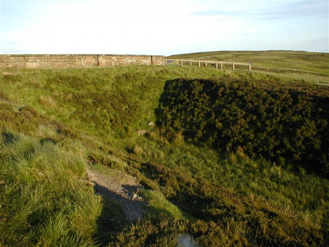 Disused Bridge Parapet, Little Blakey