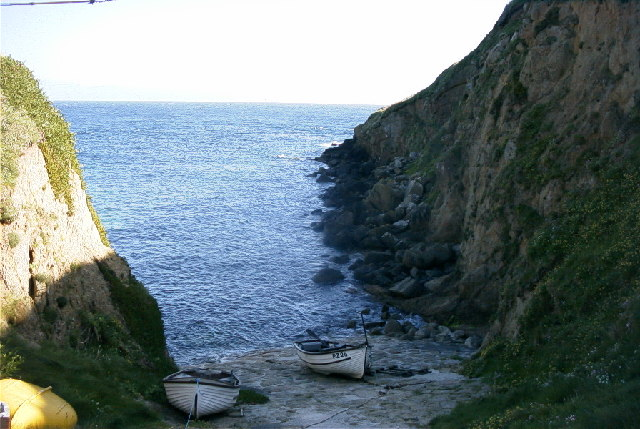Fishing boats, Porthgwarra