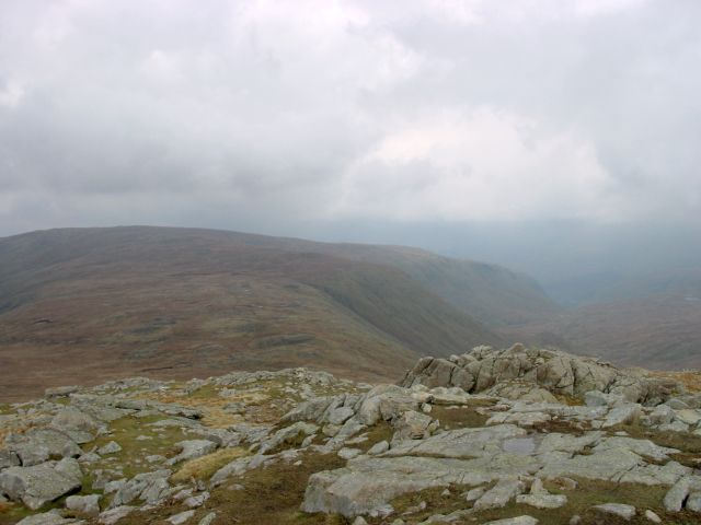 Greenup Edge overlooking Ullscarf