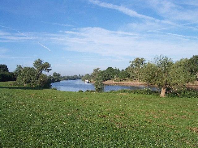 The River Severn at Deerhurst