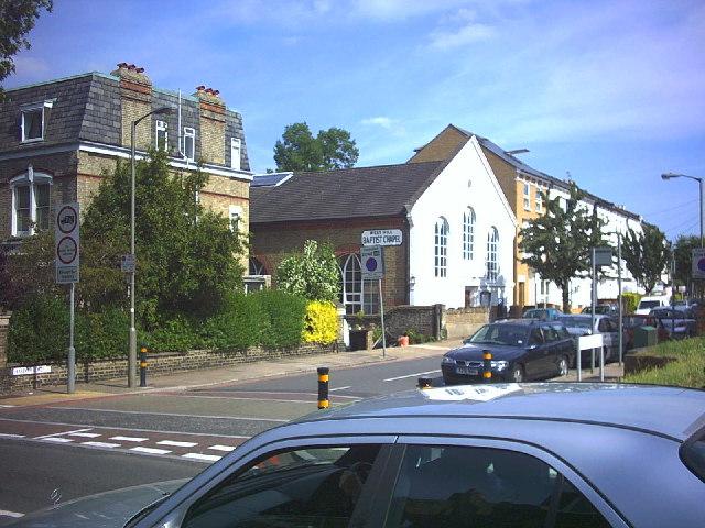 West Hill Baptist Chapel, Haldon Road, Wandsworth.