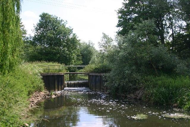 River Lark at Ducksluice Farm