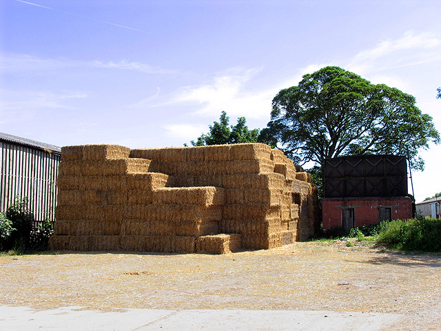 Haystack at Cheseridge Farm