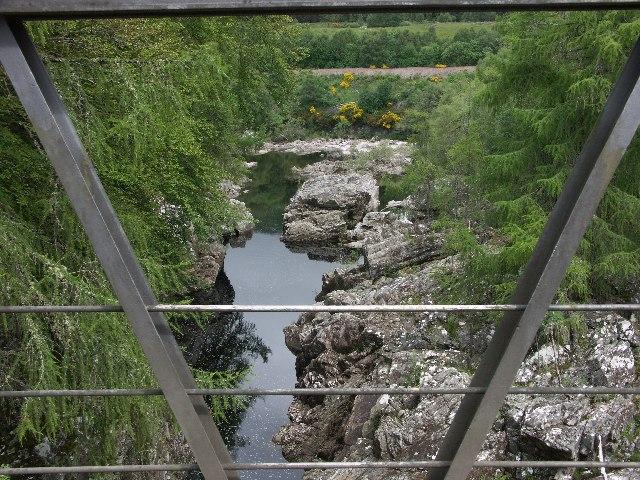 River near Inverlair Falls