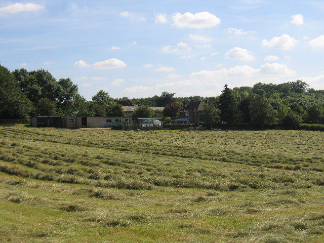 Hay making at Greenhil Farm