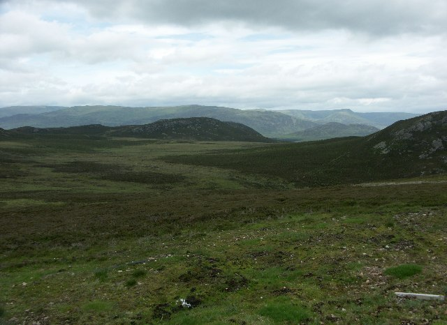 View West from Crubenmore