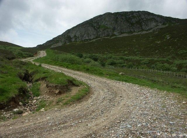 Am Binnein near Crubenmore