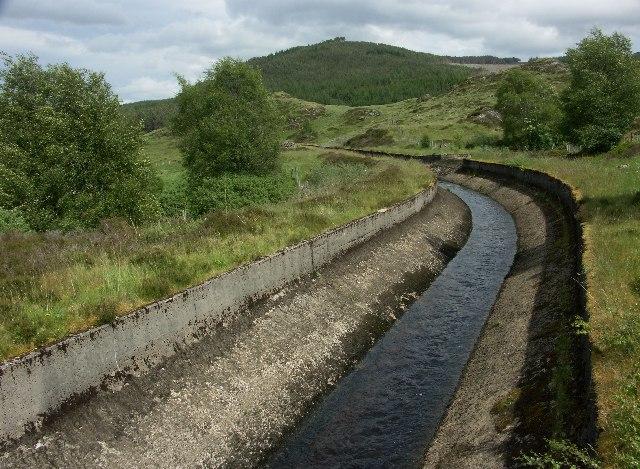 Aqueduct in Strath Mashie