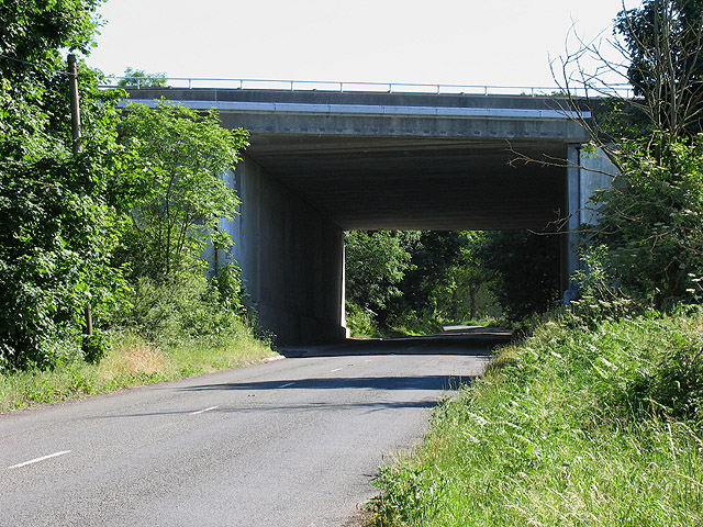 M4 Bridge near Little Hungerford