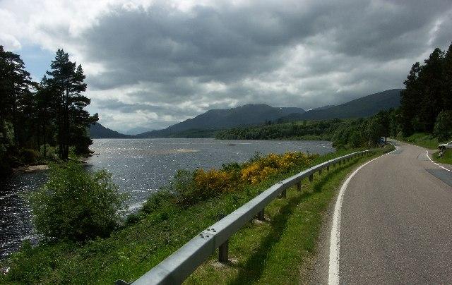 Kinloch Laggan end of Loch Laggan