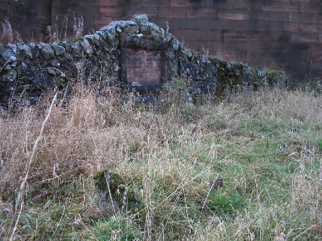 Navvies graveyard, Elvanfoot Bridge