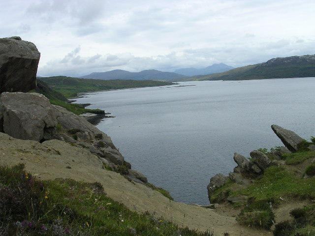 A view eastwards up Loch Eishort