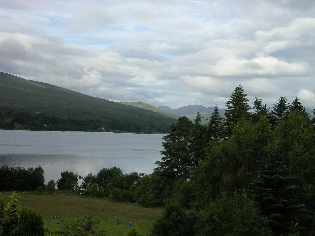 View from Outward Bound Loch Eil