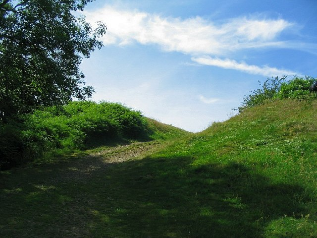 South Gate to Midsummer Hillfort