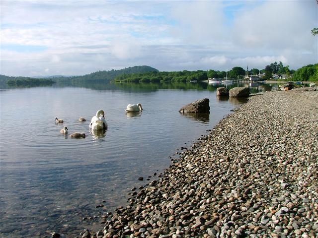 Loch Lomond, Luss