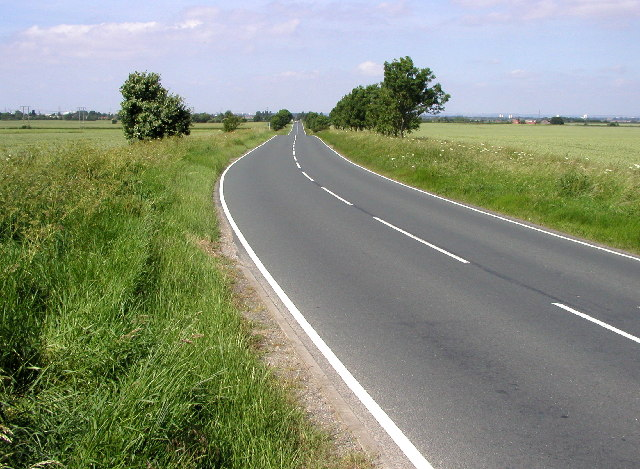 The Lelley to Bilton road
