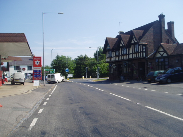 King's Head cross roads at North Chailey