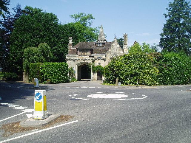 Maresfield - entrance to Maresfield Park