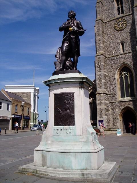 Thomas Gainsborough statue, Sudbury