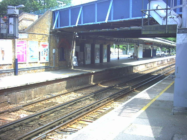 Barnes Railway Station, Rocks Lane.