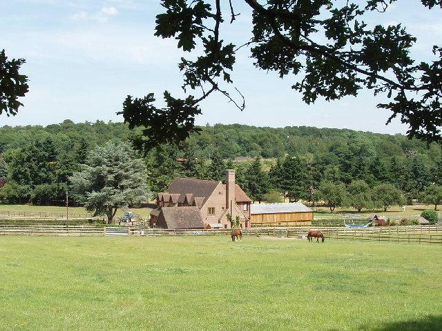 Farm near Hedgerley Park