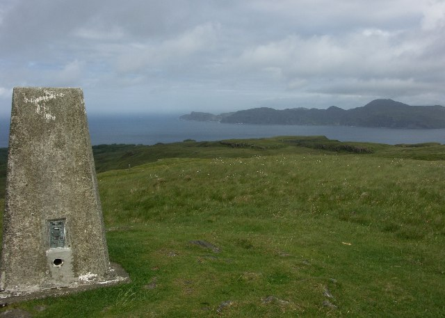 View North towards Ardnamurchan from Meall an Inbhire