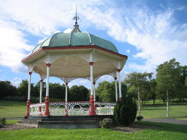 Louise Carnegie Bandstand, Public Park Dunfermline