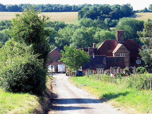 Barn Elms Farmhouse near Bradfield